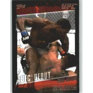 2010 Topps UFC Trading Card # 159 Phil Davis (Ultimate Fighting