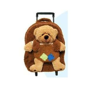 Brown Teddy Bear Plush Best Buddy Roller Backpack Toys & Games
