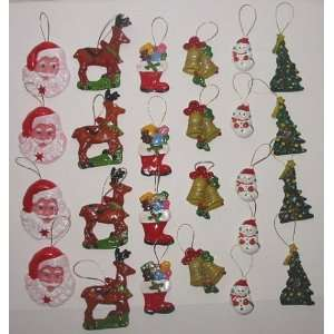 Set Hand Made Decorative Fridge Magnets 1.5 3.0h