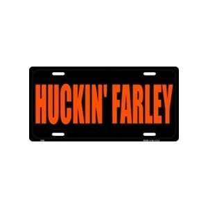 America sports Huckin Farley License Plate Tags Sports
