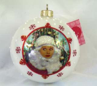 LOVE LUCY Lucille Ball Santa Polonaise Ornament NEW