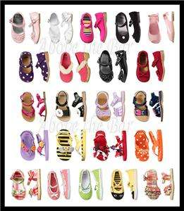 NWT Gymboree Girls Baby Toddler Shoes Sandals Flip Flops Clogs U Pick