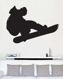 Vinyl Wall Art Decal Snowboard Extreme Sports Big 45x32