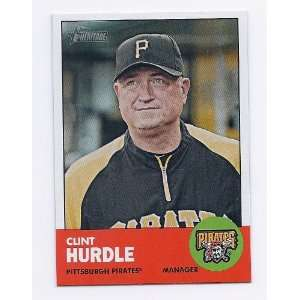 2012 Topps Heritage #393 Clint Hurdle Pittsburgh Pirates Manager