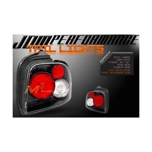 Plymouth Neon Tail Lights JDM Carbon Taillights 1995 1996 1997 1998