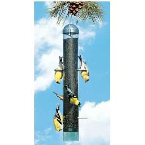 Perky Pet Deluxe Metal Upside Down Bird Feeder, Squirrel Resistant