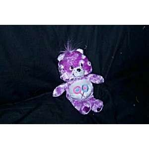 2004 SHARE BEAR Care Bear GEM HEART NOSE 8 inch Plush