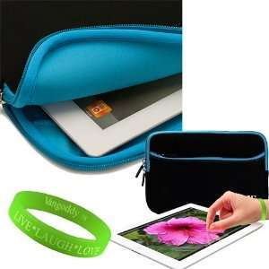 VanGoddy Apple iPad Accessories Fusion Blue Trimmed Onyx