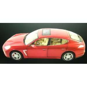2009 Porsche Panamera Turbo Rubin Red 118 Toys & Games