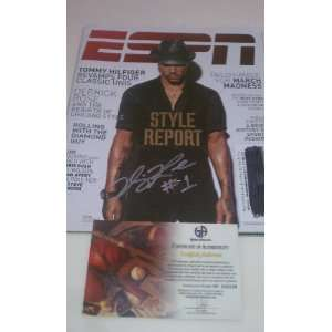 Derrick Rose Signed Chicago Bulls ESPN Magazine