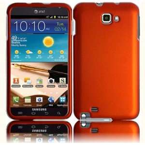 VMG Samsung Galaxy Note Hard Case Cover 2 ITEM COMBO   ORANGE Hard 2