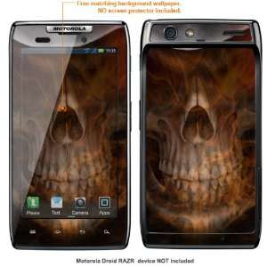 Protective Decal Skin Sticker for Motorola Droid Razr case cover Drazr