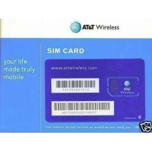 ATT Blue SIM card Pack Electronics