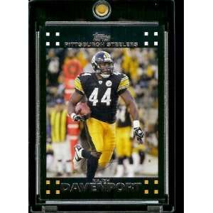 2007 Topps Football # 97 Najeh Davenport   Pittsburgh Steelers   NFL