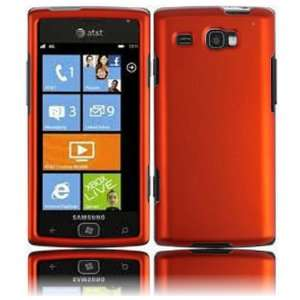 VMG 3 Item Samsung Focus Flash Hard Case Combo   ORANGE Hard