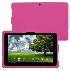 Skque Pink Silicone Skin Case Of Asus Eee Pad Transformer