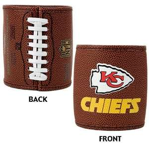 Kansas City Chiefs NFL 2pc Football Can Holder Set Sports