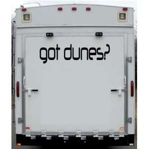 Got Dunes Trailer Toy Hauler Desert Motorcycle Vinyl Decal