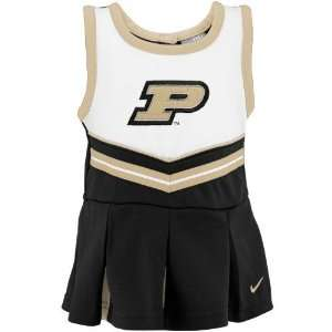Boilermakers Infant Black Cheer Dress & Bloomers