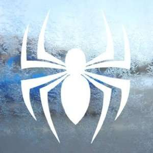 Spider Tribal White Decal Car Laptop Window Vinyl White