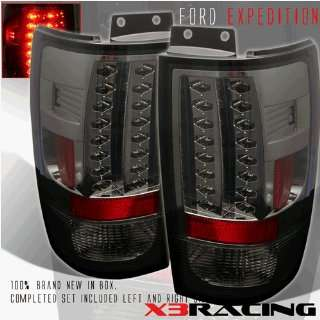 Ford Expedition Led Tail Lights Smoke Altezza LED Taillights 1997 1998