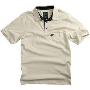 Fox Racing Uniform Polo   X Large/Putty Automotive
