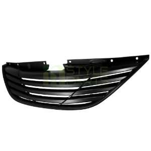 2010 2012 Hyundai Sonata Front Grille Black Automotive