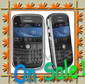 Brand New Blackberry 9000 Bold Unlocked GSM WIFI GPS 3G 2MP BLACK