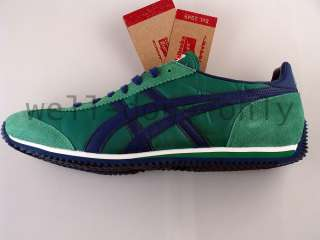 NIB Asics Onitsuka Tiger California 78 green navy shoes
