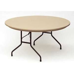 60 Round Resin Folding Table