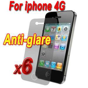 Glare Matte Screen Protector Cover Saver Guard For All iPhone 4 4S 4GS