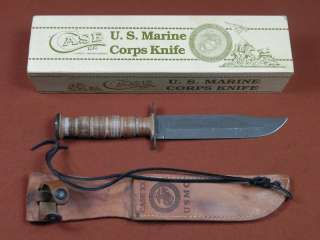 US CASE XX Bradford 1989 USMC Marine Corps Fighting Knife