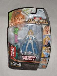MARVEL LEGENDS ANNIHILUS SERIES EMMA FROST FIGURE MOC