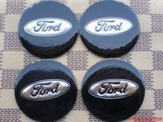 4X 56mm Ford Car Wheel Center Trims stickers Cap Badge