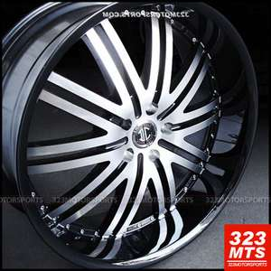 2CRAVE 11 WHEELS RIMS ESCALATE CHEVY TAHOE YUKON GMC CHEVY WHEELS RIMS