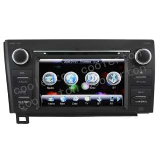 Digital HD Touchscreen DVD GPS Player For 2007 2011 Toyota Tundra