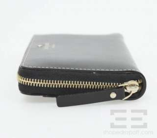Kate Spade Black Leather & Gold Zipper Mercer Street Lacey Wallet