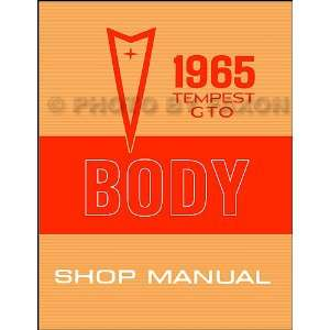 1965 Pontiac GTO, Tempest, and LeMans Body Shop Manual