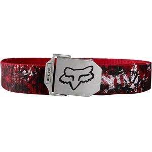 Fox Racing Stencil Web Belt   One size fits most/Red