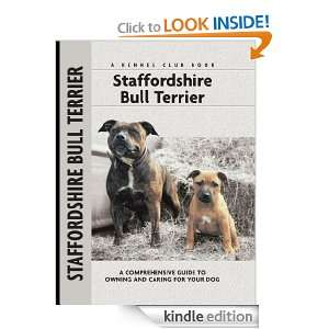 Staffordshire Bull Terrier (Comprehensive Owners Guide) Jane Hogg