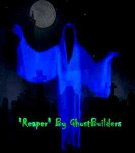 MOTORIZED Reaper Animated Flying Crank Ghost. Haunted House Halloween