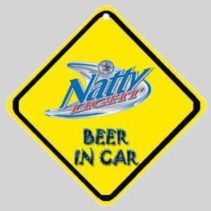 Natural Natty Light Beer Logo Car Window Sign Everything