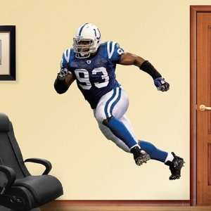 Dwight Freeney Indianapolis Colts NFL Fathead REAL.BIG