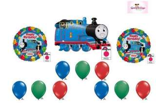 Thomas the Train Happy Birthday Party Balloon Set Lot