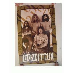 Led Zeppelin Poster Band Shot Commercial Led 3 Everything