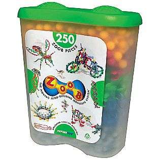 ZOOB Building Set   250 Piece Tub  Toys & Games Blocks & Building Sets