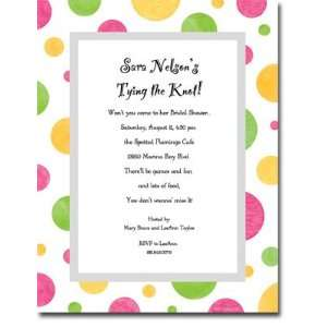 Middleton Blank Stock Letterhead   Candy Dots