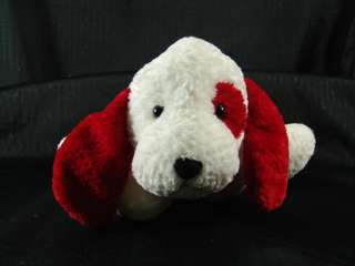 BIG RED SPOT PLUSH RUSS TARGET PUPPY DOG STUFFED ANIMAL