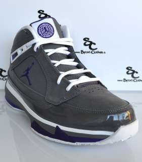 ISO II 2 air zoom grey white purple mens basketball shoes NEW