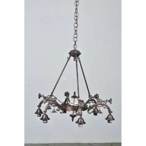 Meyda Tiffany 26181 Victorian   Eight Light 6 Arm Chandelier, Stained